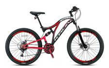 KRON Fully Mountainbike 24 26 Zoll, 21 Gang Shimano Schaltung