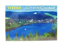 Schwarzwald Titisee Forest Foto Magnet Germany 8 cm Reise Souvenir