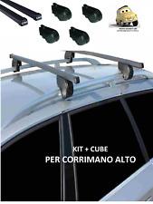 Chevrolet Nubira II Sw (05>09) Kit Barre Portapacchi Portabagagli (RAIL APERTI)