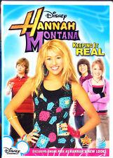 Hannah Montana - Keeping It Real (DVD, 2009) Miley Cyrus,Billy Ray Cyrus New
