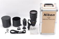 【Almost Unused in Box】Nikon ED AF-I Nikkor 300mm f/2.8D w/ Teleconverter Japan