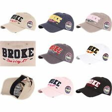 Strapback 100% Cotton Hats for Men
