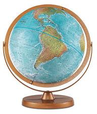Globo Terráqueo Atlantis 30cm geográfico - Base y meridiano metal - inglés