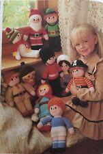 Sewing pattern Jean Greenhowe 10 le meilleur de poupée jouet Santa Robin Hood 28 cm rare