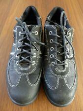 Women's Black Ecco Walking Shoes (Gore-Tex) - Size 5 (EU 38) - Hardly Worn