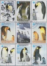Niger 1404-1412 (kompl.Ausg.) gestempelt 1998 Kaiserpinguin