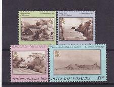 PITCAIRN ISLANDS Sc#291-294 ISLAND PAINTINGS 1987 (4v) MNH