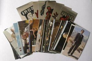 Marvel IRON MAN Movie Lot of 80+ Stickers & Foils 2008 PREZIOSI Downey Jr