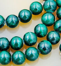 15.5inches 6mm Natural Green Malachite Round Beads