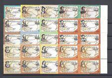 NORFOLK ISLANDS 1994 SG 562/73 MNH Block Cat £100