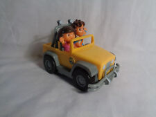 2007 Diego and Dora the Explorer in Yellow Jeep - as is