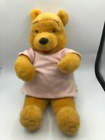 Disney Store Winnie The Pooh Bear Pyjamas Plush Kids Soft Stuffed Toy Animal