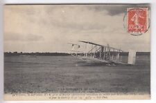 CPA   TRANSPORT -  AVIATION AVION AEROPLANE WRIGHT RECORD DISTANCE 1909 ~C13