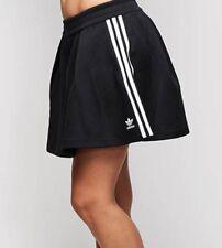 size womens 8 - adidas originals 3 stripes skirt br4487