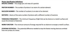 A* QUALITY AQA A LEVEL EXAM AND PRACTICAL NOTES FOR PHYSICS 7407/7408 - PDF