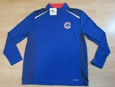 Majestic Chicago Cubs MLB Cool Base 1/4 Zip Tech Jacket Shirt size Men's XL