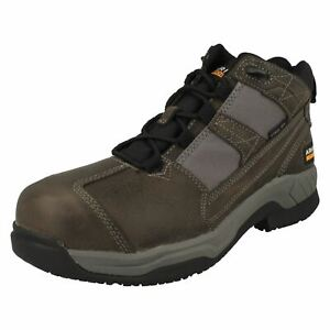 ARIAT MENS LEATHER LACE UP SAFETY STEEL TOE CAP WORK BOOTS CONTENDER SIZE