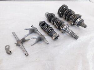 Kawasaki Ninja ZX-6R ZX-636 Engine Motor Transmission Gears & Shifter Drum Forks