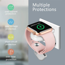 Watch Charger Magnetic Portable iWatch Wireless Charger for Travel Outdoor