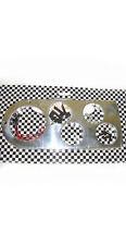 1948 1949 1950 Ford Truck Polished Billet Aluminum Dash Insert Gauge Panel