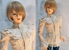 1/3 BJD 65cm Boy Doll Iplehouse YID SD17 outfit Beige Color Gothic Shirt ship US
