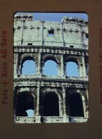 Lot of 7 Rome Colosseum Tourist 1950s Anscochrome Vintage Slides Italy