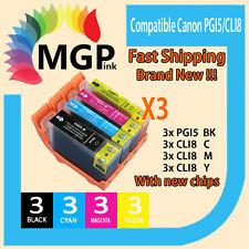 12xInk cartridges PGI-5BK CLI-8 w/chip f Canon MP520 MP510 MX700 Ix5000 ix4000
