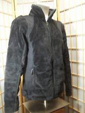 WOMEN'S COLUMBIA SIZE M BLACK FLEECE OMNI-HEAT LINED WARM COAT JACKET