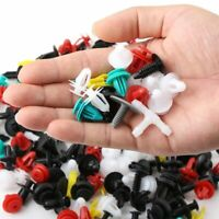100pcs Universal Automobile Cars Vehicles Mixed Durable Plastic Fastener Clips