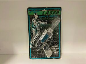 Star Wars Laser Space Pistol WEINA Vintage 1980s VERY RARE Sealed carded - Mint