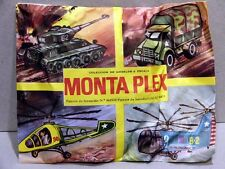 MONTAPLEX Sobre Mixto 4 en 1 Militar: PANZER CAMION y 2 HELICOPTEROS 70's airfix