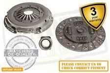 Peugeot 806 2.0 16V 3 Piece Complete Clutch Kit Set 132 Mpv 05.98-09.00 - On