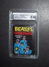 1964 BEATLES COLOR WAX CARD PACK TOPPS  GAI GRADED 8.5   *PRICED TO SELL*