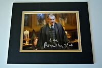 Roger lloyd Pack Signed Autograph 10x8 photo display Harry Potter Film & COA