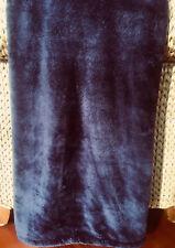 "Zoeppritz Microstar Ultra Soft Throw Blanket 59 Cobalt Blue/Purplish 55x75"""