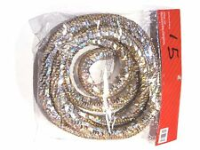 6 Ft Gold Holographic Sequins Bendable Rope Garland Christmas Decoration Crafts