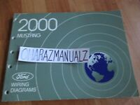 2000 FORD Mustang Wiring Diagrams Manual OEM