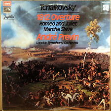 EMI HMV QUAD JUGOTON UK YUGOSLAVIA Tchaikovsky PREVIN 1812 Overture LQHMV-70662