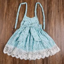 Flower Girl Summer Princess Lace Floral Dress Kids Wedding Party Pageant Dresses