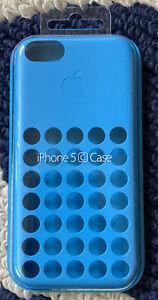 New Genuine Apple iPhone 5C Case Blue