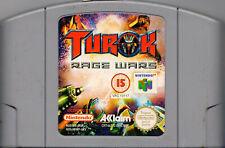 TUROK RAGE WARS NINTENDO N64 (CARTRIDGE ONLY)