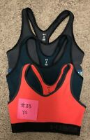 Women's Under Armour Mid Sports Bra Lot Of 3 Size XS #33
