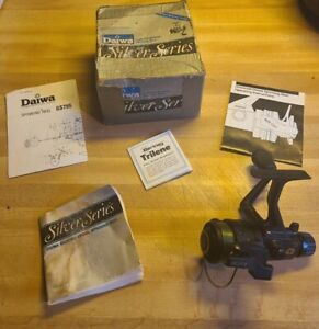 Rare Daiwa GS755 AutoCast Spinning Reel Graphite, RH or LH, Works Great!