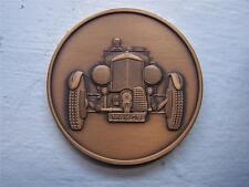 "BENTLEY 1929 SUPERCHARGED GREAT CLASSIC CAR 2"" BRONZE MEDAL HAMILTON MINT"