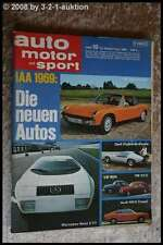 AMS Auto Motor Sport 19/69 * Rover 3500 V 8 BMW 2002 Ford Mustang Boss 302