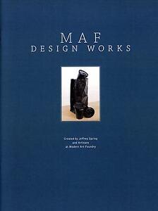 "Modern Art Foundry Catalog ""MAF Design Works""  Bronze Decorative Sculpture"