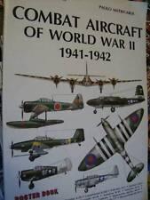 Combat Aircraft of World War II 1941-1942 Poster Book, Paperback, 1988