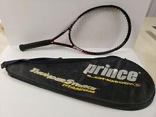 Prince Thunderstrike 125 Titanium Long body Racquet With Case Needs New Grip