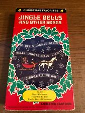 Jingle Bells And Other Songs Vcr Vhs Animation Used