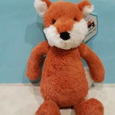 New Jellycat Bashful Fox Cub Soft Toy